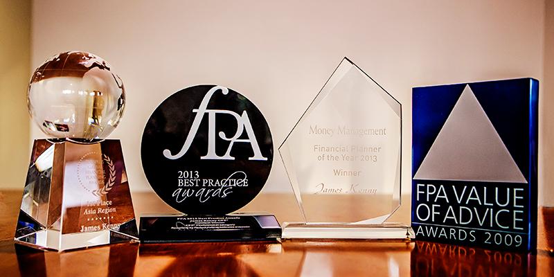 James Kenny Finance Awards